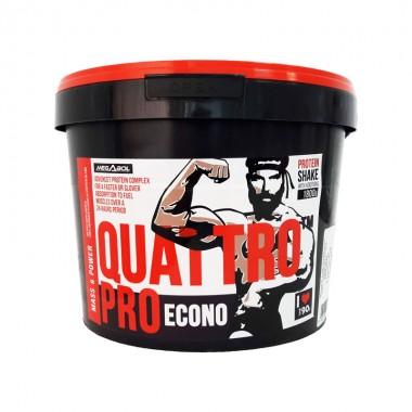 Supliment de proteine Megabol Quattro Pro Econo 1800g, pentru cresterea masei musculare