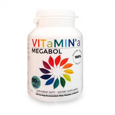 Capsule vitamine Megabol VITaMIN'a, 90 cps