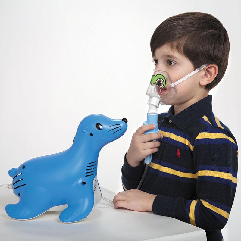 Administrarea tratamentului cu aerosoli la copii