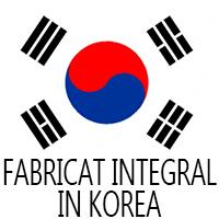 Fabricat intregral in Korea